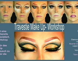 Travestie Make Up- Workshop
